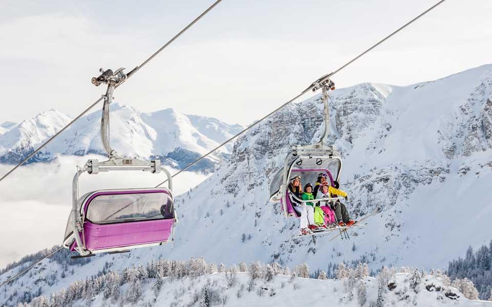 Skigebiet Pflerschtal-Ladurns